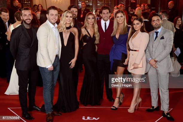 Pete Wicks James 'Diags' Bennewith Chloe Sims Dan Edgar Lauren Pope James Argent Chloe Meadows Courtney Green and guest attend the ITV Gala held at...