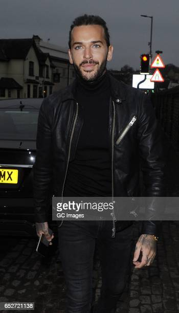 Pete Wicks seen filming TOWIE at Seven Nightclub on March 12 2017 in London England