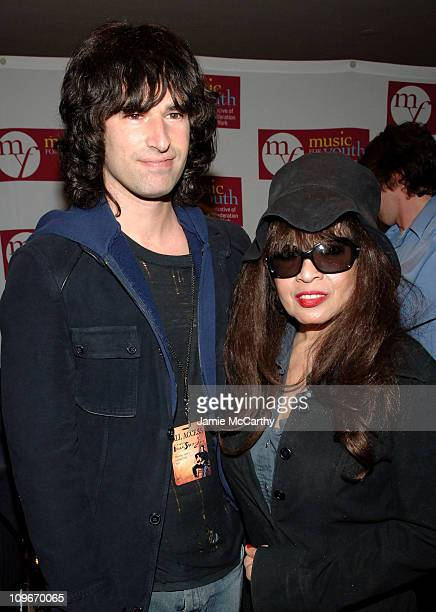 Pete Yorn and Ronnie Spector during Music for Youth Benefit Concert 'Celebrating the Music of Bruce Springsteen' for the UJAFederation of NY...