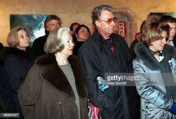 Peter Alexander Ehefrau Hilde 'SAN Bilder und Keramiken' Vernissage Austellungseröffnung Kunstausstellung St Peter an der Sperr Wien Showmaster...