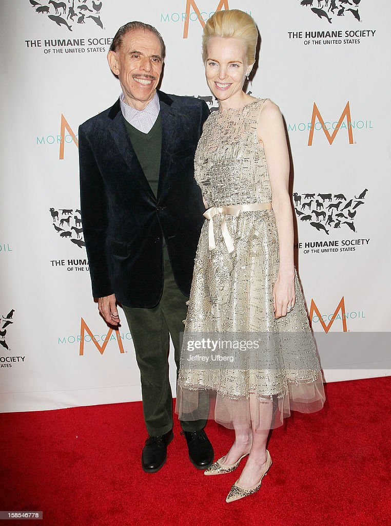 Peter and Mary Max attend The Humane Society of the United States presents To The Rescue! gala benefiting post hurricane efforts at Cipriani 42nd Street on December 18, 2012 in New York City.