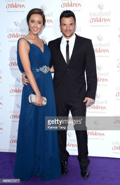 Peter Andre and Emily MacDonagh attend the Caudwell Children Butterfly Ball held at the Grosvenor House Hotel on May 15 2014 in London England