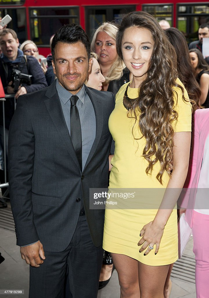 <a gi-track='captionPersonalityLinkClicked' href=/galleries/search?phrase=Peter+Andre&family=editorial&specificpeople=201546 ng-click='$event.stopPropagation()'>Peter Andre</a> and Emily MacDonagh attends the 2014 TRIC Awards at The Grosvenor House Hotel on March 11, 2014 in London, England.