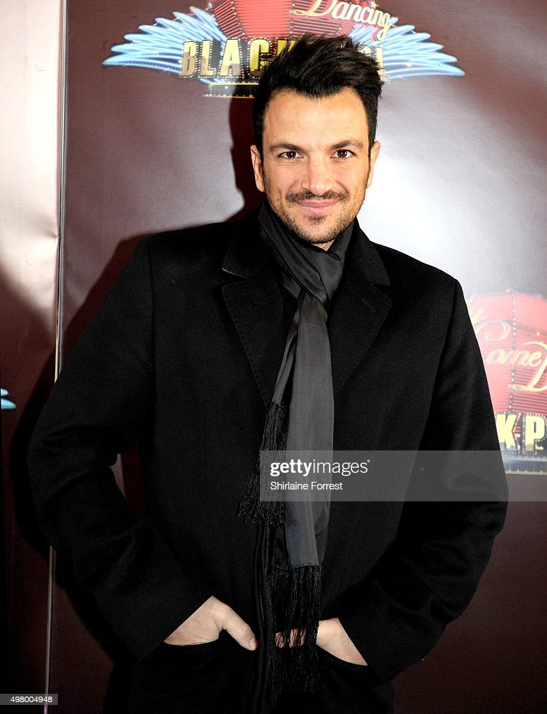 <a gi-track='captionPersonalityLinkClicked' href=/galleries/search?phrase=Peter+Andre&family=editorial&specificpeople=201546 ng-click='$event.stopPropagation()'>Peter Andre</a> arrives to attend a special edition of 'Stricly Come Dancing' - 'Strictly Blackpool' at Tower Ballroom on November 20, 2015 in Blackpool, England.
