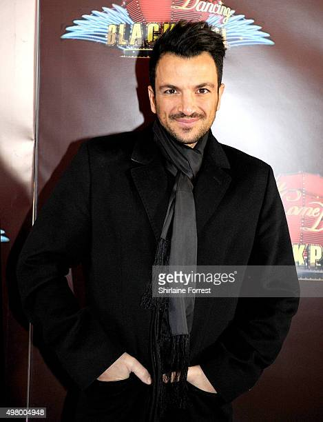 Peter Andre arrives to attend a special edition of 'Stricly Come Dancing' 'Strictly Blackpool' at Tower Ballroom on November 20 2015 in Blackpool...