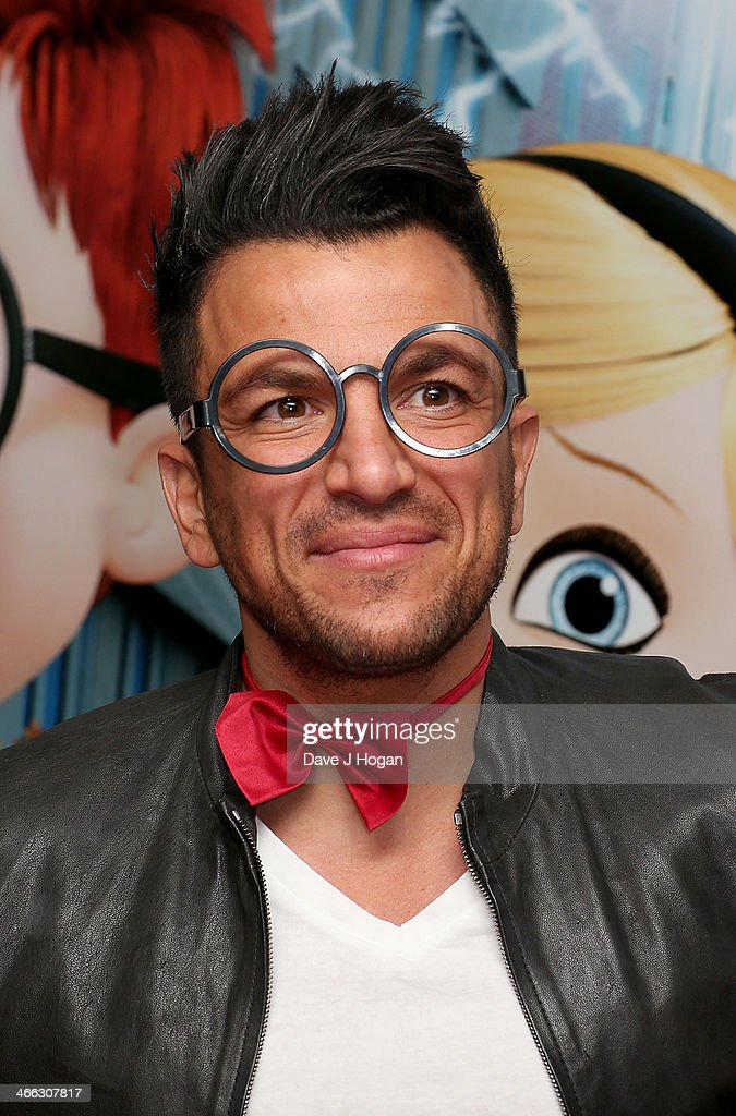 <a gi-track='captionPersonalityLinkClicked' href=/galleries/search?phrase=Peter+Andre&family=editorial&specificpeople=201546 ng-click='$event.stopPropagation()'>Peter Andre</a> attends a VIP Gala screening of 'MR Peabody & Sherman 3D' at Vue West End on February 1, 2014 in London, England.