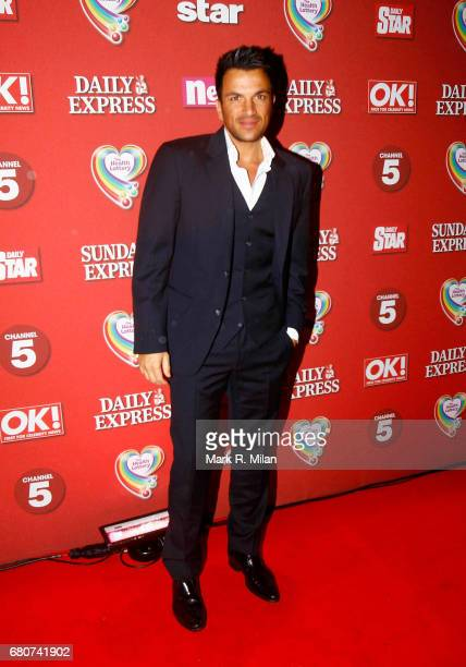 Peter Andre attends the 60th Birthday Celebration of Richard Desmond at Old Billingsgate Market on December 8 2011 in London England