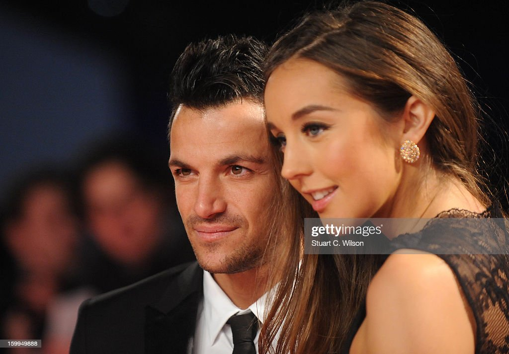<a gi-track='captionPersonalityLinkClicked' href=/galleries/search?phrase=Peter+Andre&family=editorial&specificpeople=201546 ng-click='$event.stopPropagation()'>Peter Andre</a> (L) attends the National Television Awards at 02 Arena on January 23, 2013 in London, England.