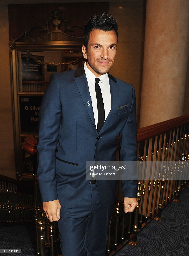 Peter Andre attends the Nordoff Robbins O2 Silver Clef Awards at the London Hilton on June 28, 2013 in London, England.