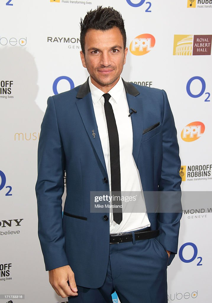 Peter Andre attends the Nordoff Robbins Silver Clef Awards at London Hilton on June 28, 2013 in London, England.