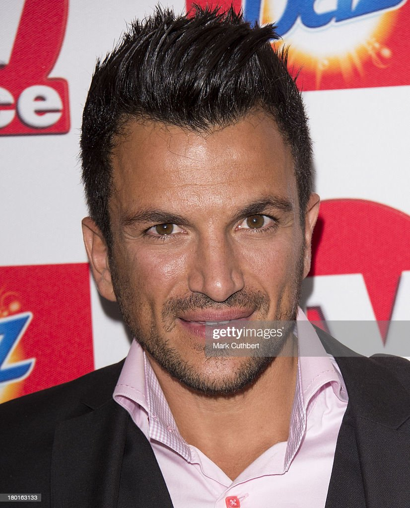 Peter Andre attends the TV Choice Awards 2013 at The Dorchester on September 9, 2013 in London, England.