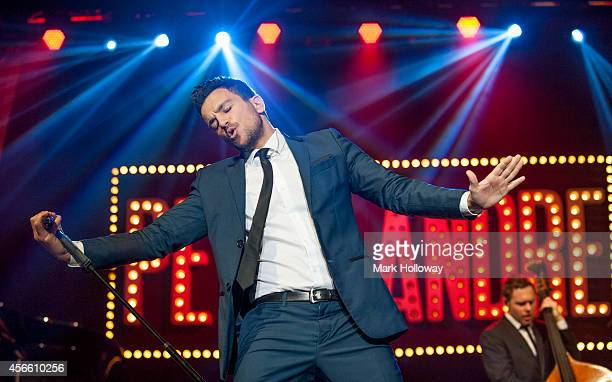 Peter Andre performs at BIC on October 3 2014 in Bournemouth England