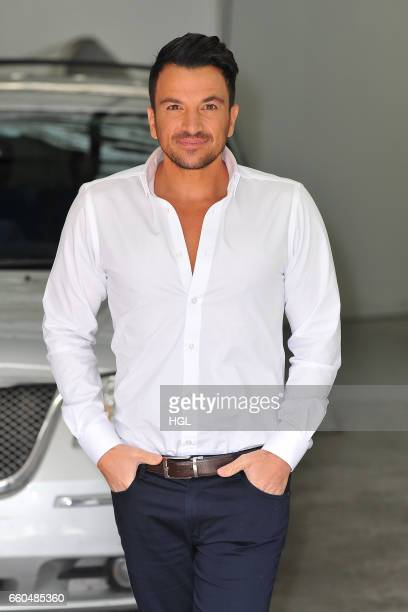 Peter Andre seen at the ITV Studios sighting on March 30 2017 in London England