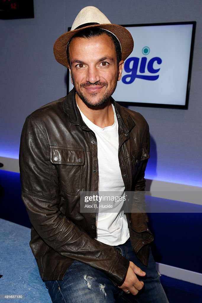 <a gi-track='captionPersonalityLinkClicked' href=/galleries/search?phrase=Peter+Andre&family=editorial&specificpeople=201546 ng-click='$event.stopPropagation()'>Peter Andre</a> Visits Magic Radio on October 7, 2015 in London, England.