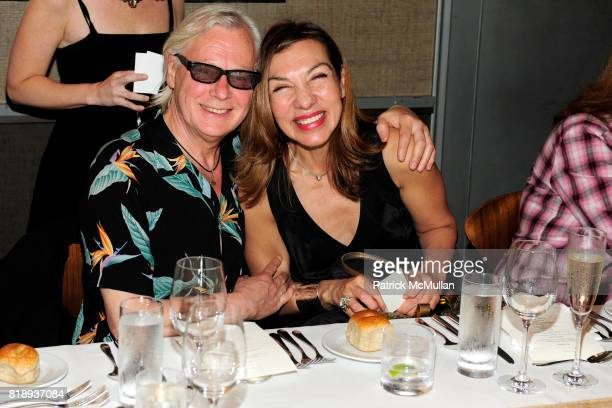 Peter Astrom and Patricia Harrera attend FLOS Private Store Viewing and Dinner at 152 Greene St on May 14 2010 in New York City