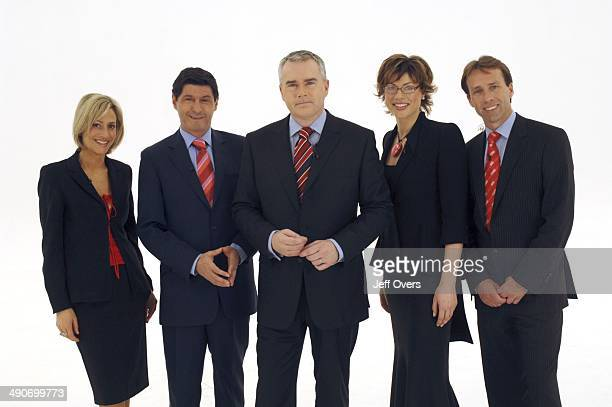 Peter Barron Emily Maitlis Jon Sopel Huw Edwards Kate Silverton Ben Brown