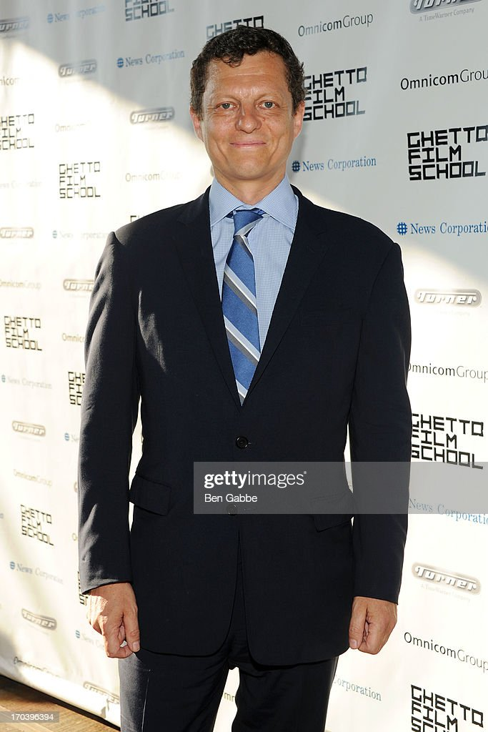 Peter Becker attends Ghetto Film School 9th Annual Spring Benefit at The Standard Biergarten on June 12, 2013 in New York City.