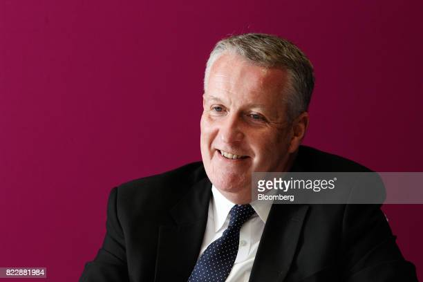 Peter Bellew chief executive officer of Malaysia Airlines Bhd reacts during an interview in Kulala Lumpur on Monday July 24 2017 Malaysia Airlines is...