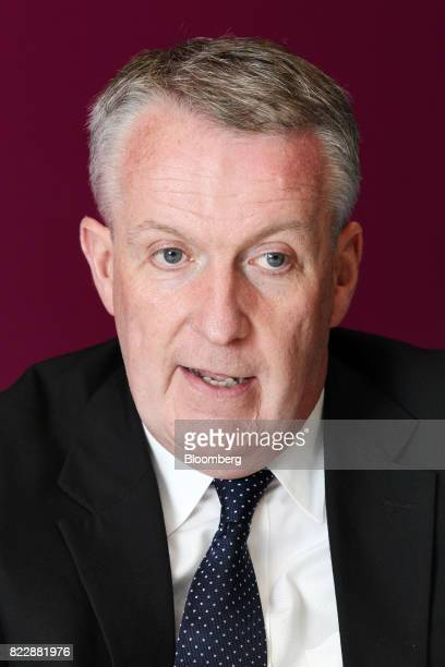 Peter Bellew chief executive officer of Malaysia Airlines Bhd speaks during an interview in Kulala Lumpur on Monday July 24 2017 Malaysia Airlines is...