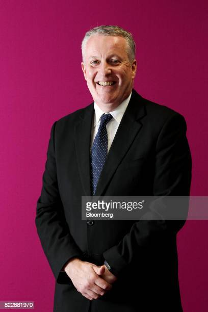 Peter Bellew chief executive officer of Malaysia Airlines Bhd stands for a photograph before an interview in Kulala Lumpur on Monday July 24 2017...