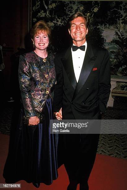 Peter Bergman and wife attend 19th Annual Daytime Emmy Awards on June 23 1992 at the Sheraton Hotel in New York City