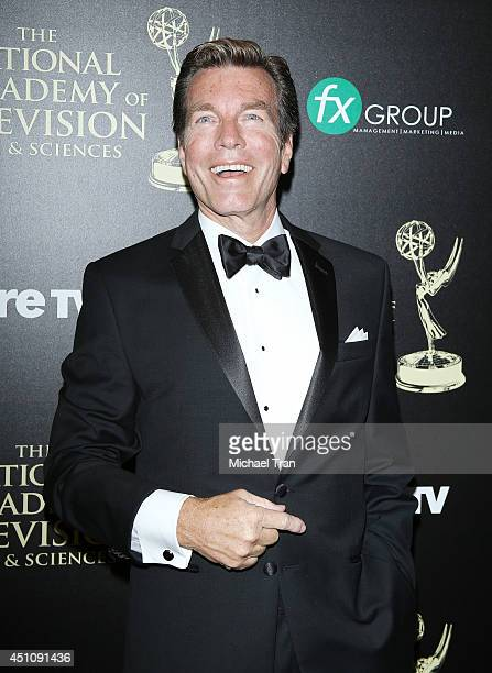 Peter Bergman arrives at the 41st Annual Daytime Emmy Awards held at The Beverly Hilton Hotel on June 22 2014 in Beverly Hills California