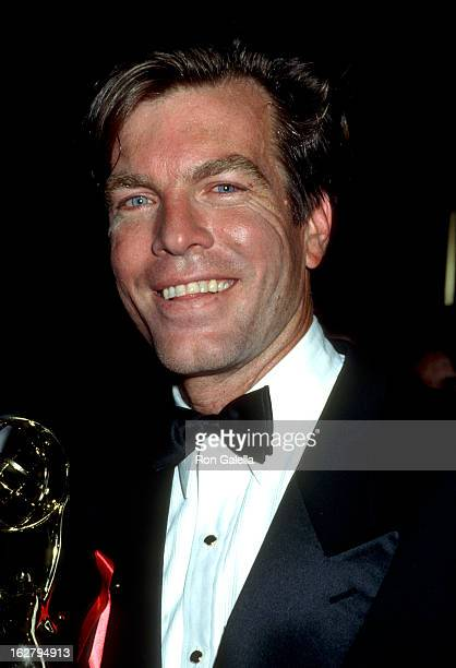 Peter Bergman attends 18th Annual Daytime Emmy Awards on June 27 1991 at the Marriott Marquis Hotel in New York City