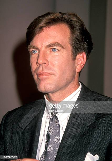 Peter Bergman attends the taping of 'The Donohue Show' on May 24 1993 at NBC Studios in New York City