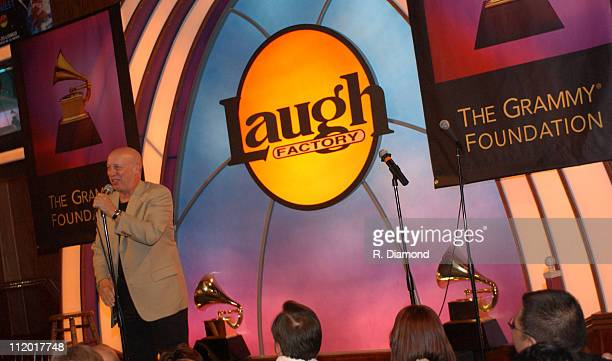 Peter Bergman during 1st Annual GRAMMY Salute to Comedy at The Laugh Factory at The Laugh Factory in Hollywood California United States