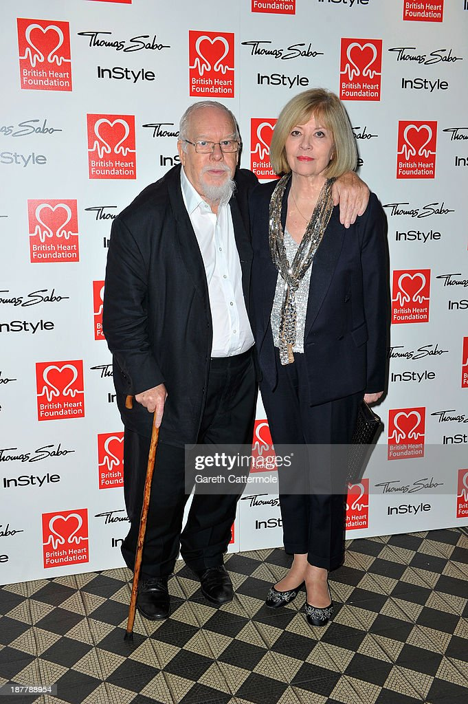 <a gi-track='captionPersonalityLinkClicked' href=/galleries/search?phrase=Peter+Blake&family=editorial&specificpeople=239082 ng-click='$event.stopPropagation()'>Peter Blake</a> (L) and Chrissy Blake attend the Tunnel of Love fundraiser in aid of the British Heart Foundation at One Mayfair on November 12, 2013 in London, England.