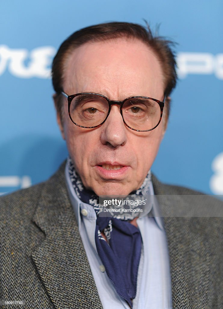 <a gi-track='captionPersonalityLinkClicked' href=/galleries/search?phrase=Peter+Bogdanovich&family=editorial&specificpeople=208149 ng-click='$event.stopPropagation()'>Peter Bogdanovich</a> attends Esquire 80th Anniversary And Esquire Network Launch Celebration at Highline Stages on September 17, 2013 in New York City.