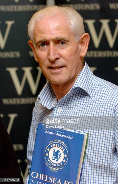 Peter Bonetti during Former Chelsea Players Sign Copies of 'Chelsea FC The Official Biography' at Waterstone's in London November 1 2005 at...