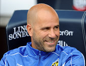 Peter Bosz manager of Vitesse Arnhem during the Pre Season Friendly match between Bolton Wanderers and Vitesse Arnhem at the Macron Stadium on August...