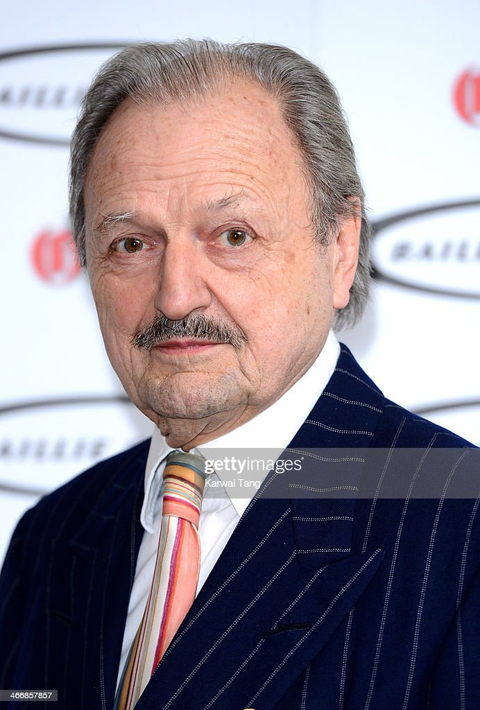 Peter Bowles attends the Oldie of the Year awards at Simpsons in the Strand on February 4, 2014 in London, England.