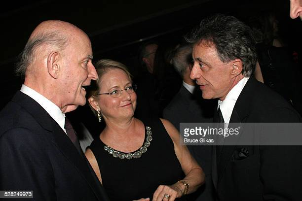 Peter Boyle and wife and Frankie Valli