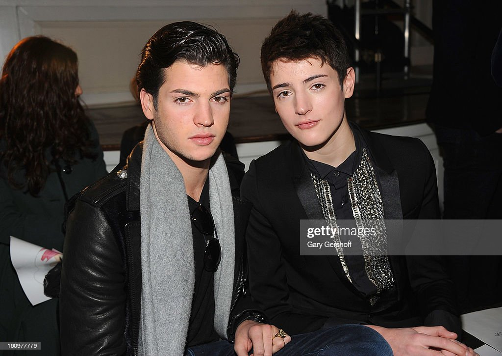 <a gi-track='captionPersonalityLinkClicked' href=/galleries/search?phrase=Peter+Brant&family=editorial&specificpeople=2469568 ng-click='$event.stopPropagation()'>Peter Brant</a> (L) and Henry Brant attend Jason Wu during Fall 2013 Mercedes-Benz Fashion Week on February 8, 2013 in New York City.