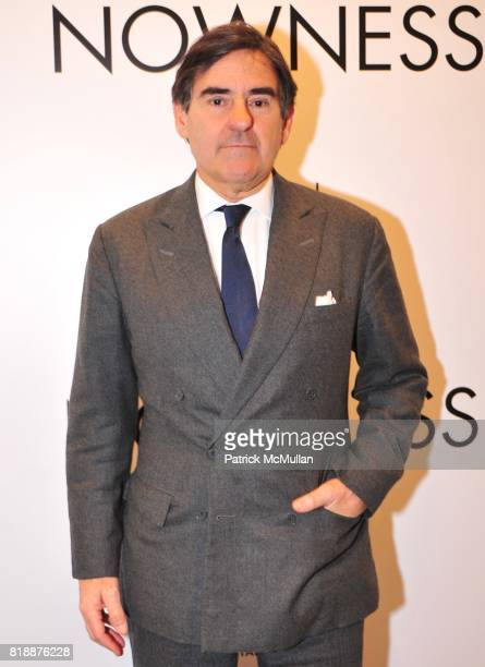 Peter Brant attends NOWNESS Presents the New York Premiere of JeanMichel Basquiat The Radiant Child at MoMa on April 27 2010 in New York City