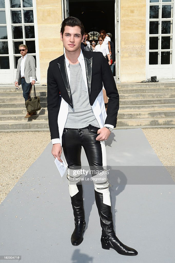 Peter Brant Jr arrives at the Christian Dior show as part of the Paris Fashion Week Womenswear Spring/Summer 2014 at Musee Rodin on September 27, 2013 in Paris, France.