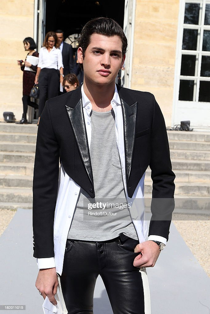Peter Brant Jr arrives Christian Dior show as part of the Paris Fashion Week Womenswear Spring/Summer 2014 on September 27, 2013 in Paris, France.