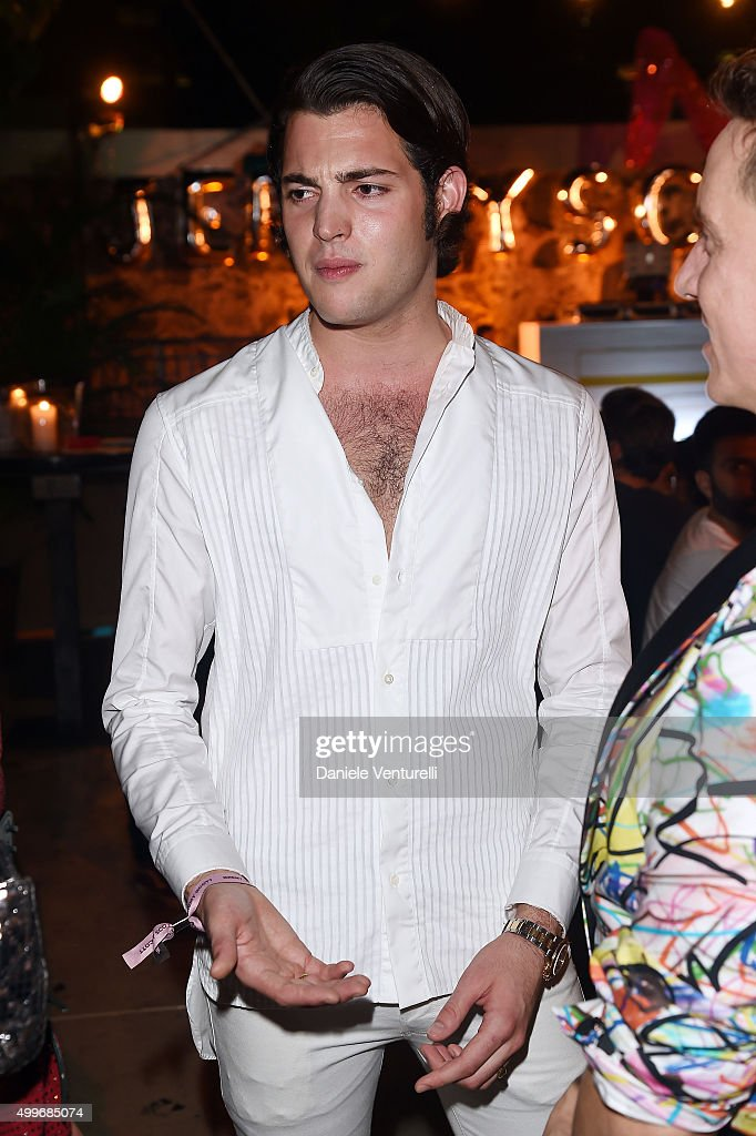 Peter Brant Jr. attends Jeremy Scott Art Basel Party at the Surf Lodge At The Hall on December 2, 2015 in Miami Beach, Florida.
