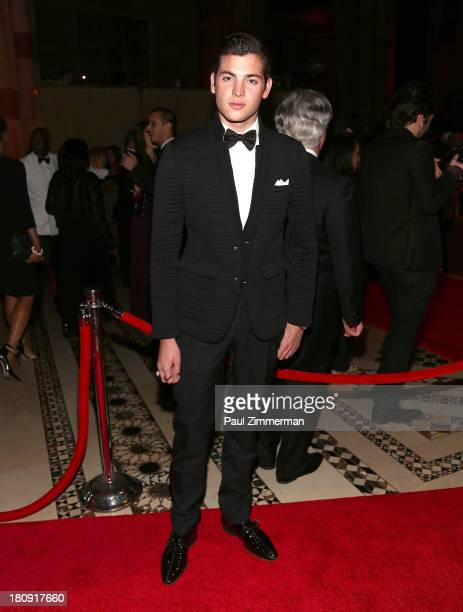 Peter Brant Jr attends the 14th Annual New Yorkers For Children Fall Gala at Cipriani 42nd Street on September 17 2013 in New York City