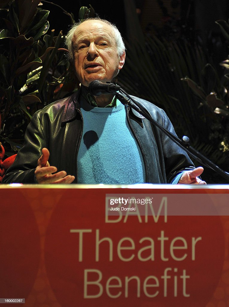 <a gi-track='captionPersonalityLinkClicked' href=/galleries/search?phrase=Peter+Brook&family=editorial&specificpeople=905662 ng-click='$event.stopPropagation()'>Peter Brook</a> attends the 2013 BAM Theater Gala at Brooklyn Academy of Music on January 24, 2013 in the Brooklyn borough of New York City.