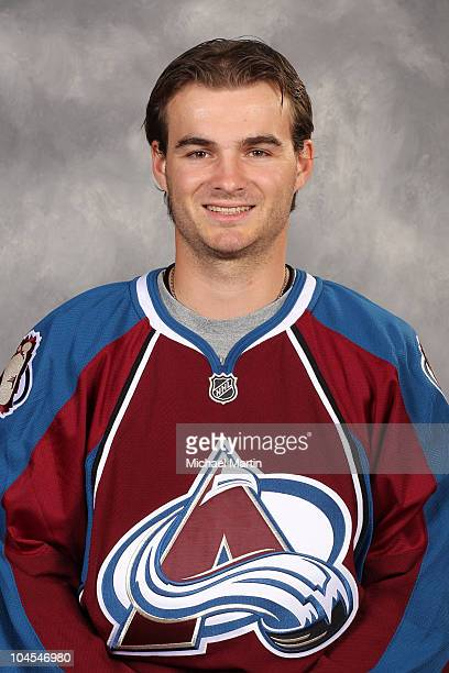 Peter Budaj of the Colorado Avalanche poses for his official headshot for the 20102011 NHL season September 17 2010 in Denver Colorado