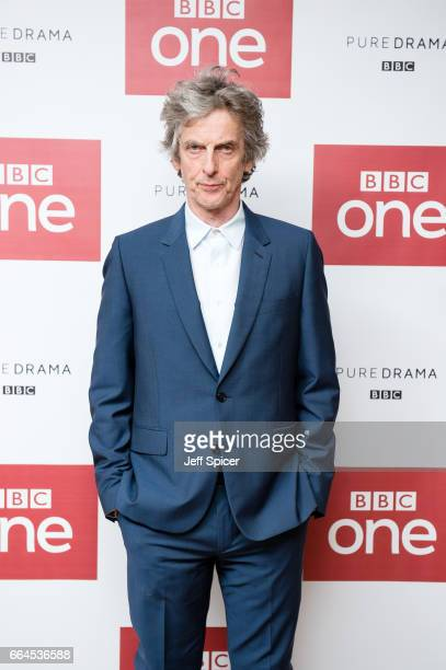 Peter Capaldi attends a photocall before the screening of the first episode of Series 10 of Doctor Who at the Ham Yard Hotel on April 4 2017 in...