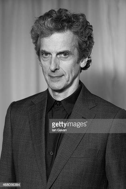 Peter Capaldi attends the Jameson Empire Awards 2015 at Grosvenor House on March 29 2015 in London England