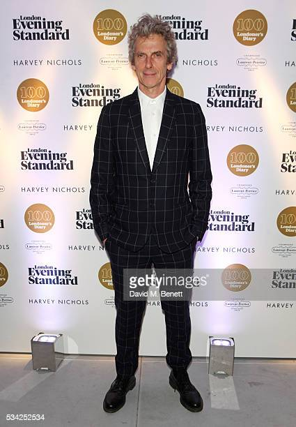 Peter Capaldi attends the London Evening Standard Londoner's Diary 100th Birthday Party in partnership with Harvey Nichols at Harvey Nichols on May...