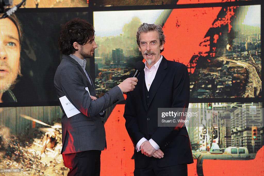 <a gi-track='captionPersonalityLinkClicked' href=/galleries/search?phrase=Peter+Capaldi&family=editorial&specificpeople=639349 ng-click='$event.stopPropagation()'>Peter Capaldi</a> attends the World Premiere of 'World War Z' at The Empire Cinema on June 2, 2013 in London, England.