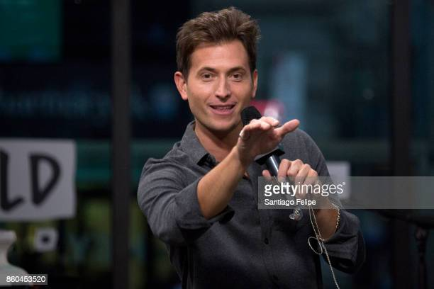 Peter Cincotti attends Build Presents to perform 'Long Way From Home' at Build Studio on October 11 2017 in New York City