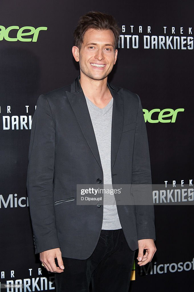 Peter Cincotti attends the 'Star Trek Into Darkness' screening at AMC Loews Lincoln Square on May 9, 2013 in New York City.