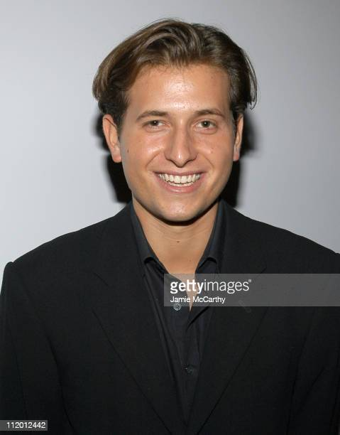 Peter Cincotti during 13th Annual amfAR Boathouse Rocks Benefit at Tavern on the Green at Tavern On The Green in New York City New York United States